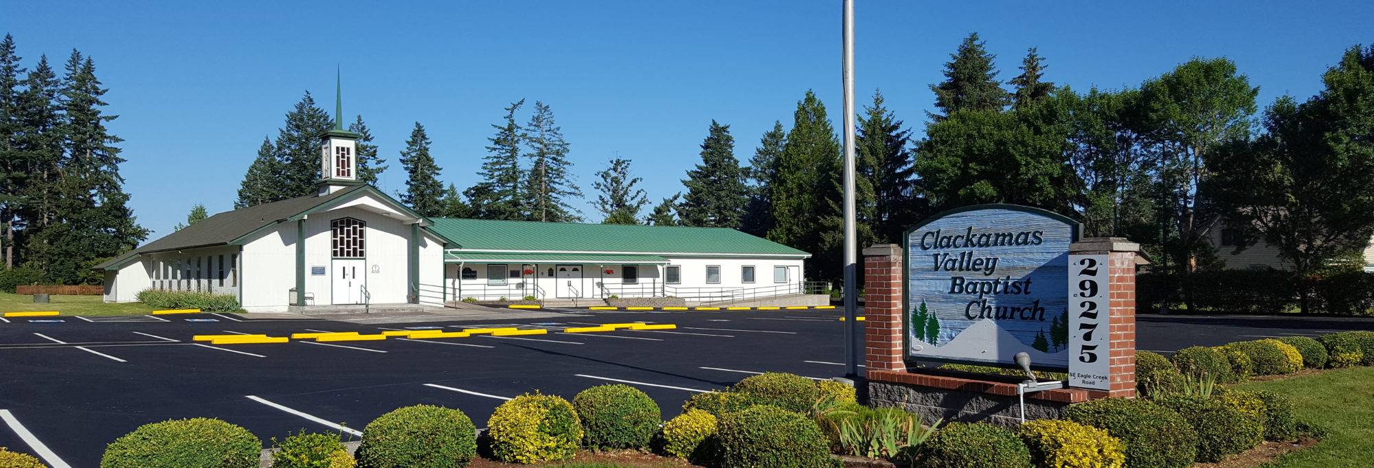 Clackamas Valley Baptist Church – (Official site)